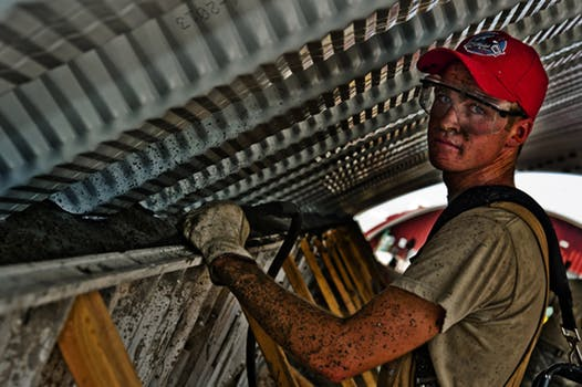 Image of a guy working