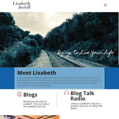 Thumbnail of the https://lisabethmackall.com/ website by Anchor Websites, LLC
